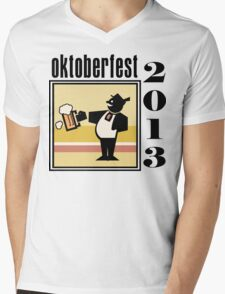 Oktoberfest 2013 Mens V-Neck T-Shirt