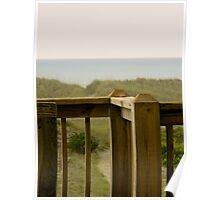Porch Railing Poster