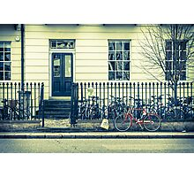 Cambridge Bicycles Photographic Print