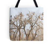 Great Blue Heron Hangout Tote Bag