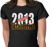 Oktoberfest 2013 Womens Fitted T-Shirt