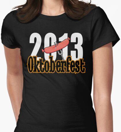 Oktoberfest 2013 Womens Fitted T-Shirt