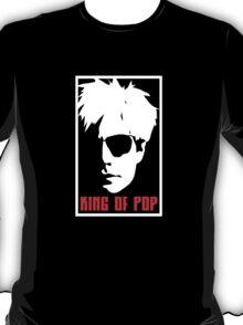 Andy Warhol King Of Pop T-Shirt