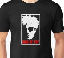 Andy Warhol King Of Pop Unisex T-Shirt