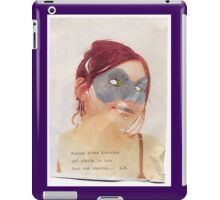 French Lover Mask iPad Case/Skin