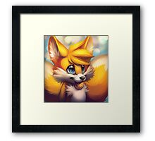 Sonic the Hedgehog Fan Art - Tails Framed Print