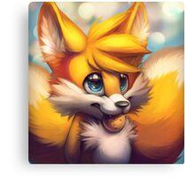 Sonic the Hedgehog Fan Art - Tails Canvas Print