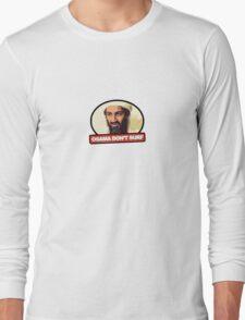 Osama Don't Surf Long Sleeve T-Shirt
