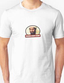Osama Don't Surf Unisex T-Shirt