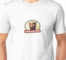 Osama Don't Surf Unisex T-Shirt