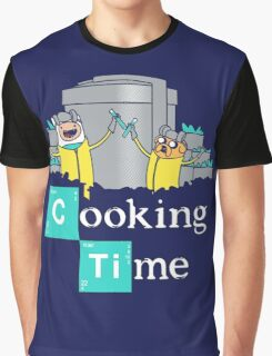 Adventure Time Cooking Time Graphic T-Shirt