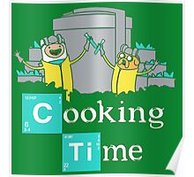 Adventure Time Cooking Time Poster