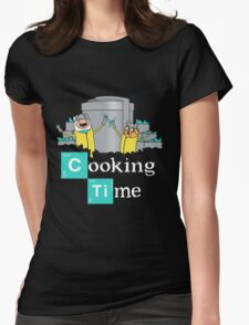 Adventure Time Cooking Time Womens Fitted T-Shirt