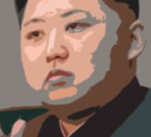 Kim Jung Un Don't Surf Sticker