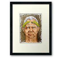 Senator Spurius Framed Print
