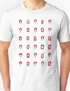 Red Ladyheads Tee T-Shirt