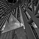 Pointy subject Abstract  by photosbyflood