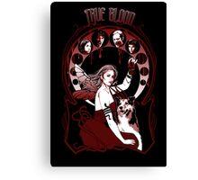 "Chasing the ""V"" Fairy- True Blood Parody Canvas Print"