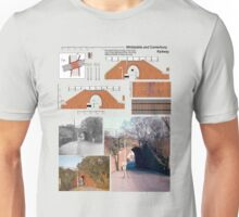 Oldest Railway Bridge Whitstable Kent England Unisex T-Shirt