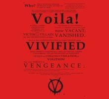 V For Vendetta Pentalogue by adamshepherd