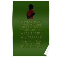 Tyrion Lannister - Armour Poster