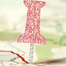 Paper Towns Typography by Larizze Ocampo