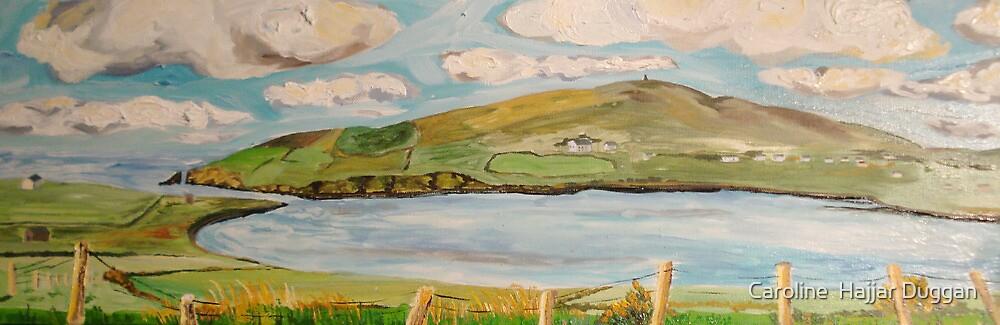 Dingle Bay, Kerry Ireland, Panel 1  by Caroline  Hajjar Duggan