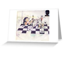 Photography, graffiti, and  graphics!....GERONIMO!..PLAYS CHESS! Greeting Card