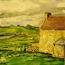 irish farm house by Caroline  Hajjar Duggan