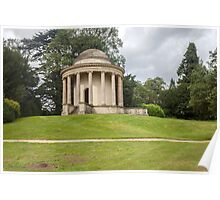Temple of Ancient Virtue Stowe Gardens  Poster