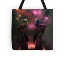 Invader Zim Fan Art - Almighty Tallest Red & Purple Tote Bag