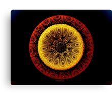 ©TAIMITIDESIGNS. -*RED & YELLOW GOLD*  Canvas Print