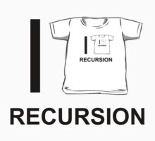 I shirt recursion by indydegrees1