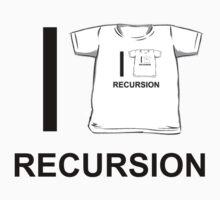 I shirt recursion Kids Clothes