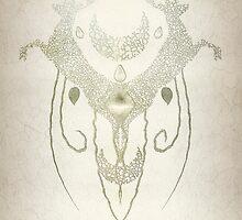 Totem Deer Wall by Eva Nev