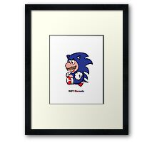 Not maronic  Framed Print