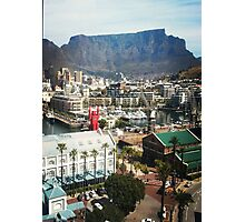 Table Mountain and lego man Photographic Print