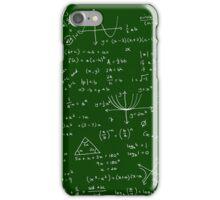 Algebra Math Sheet iPhone Case/Skin