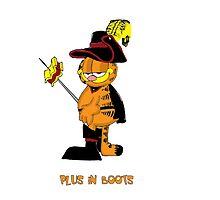 Plus in Boots by jeffaz81