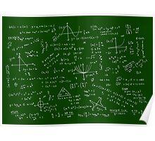 Algebra Math Sheet Poster