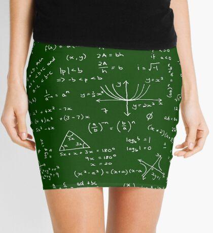 Algebra Math Sheet Mini Skirt