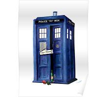 The Tardis - Just Married Poster