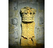 Stone Crown Photographic Print
