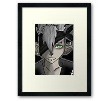Anime OC Framed Print
