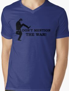 Fawlty Towers - Don't mention the war Mens V-Neck T-Shirt