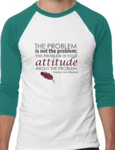 The Problem Men's Baseball ¾ T-Shirt