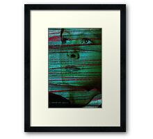 One day I shall speak Framed Print