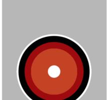 Hal 9000 Minimalist Monkey Sticker