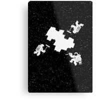Incomplete Space Metal Print