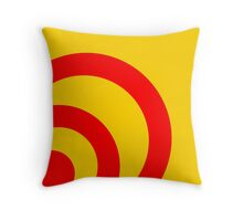 Signal Lost Throw Pillow